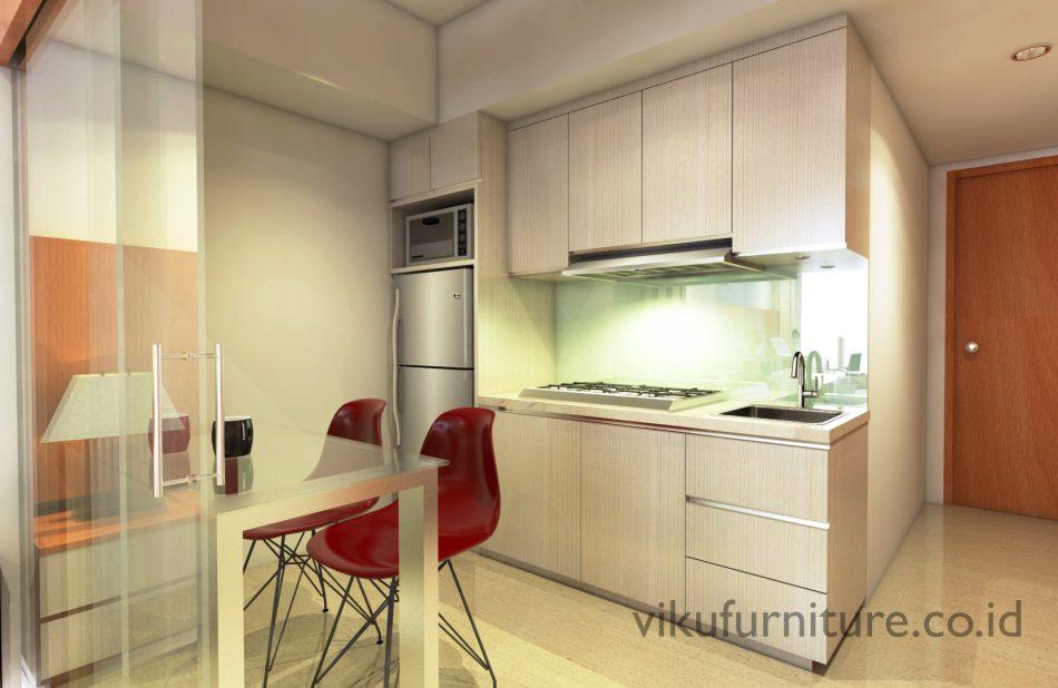 Design Kitchen Set Apartemen Kecil Archives Viku Furniture Bandung