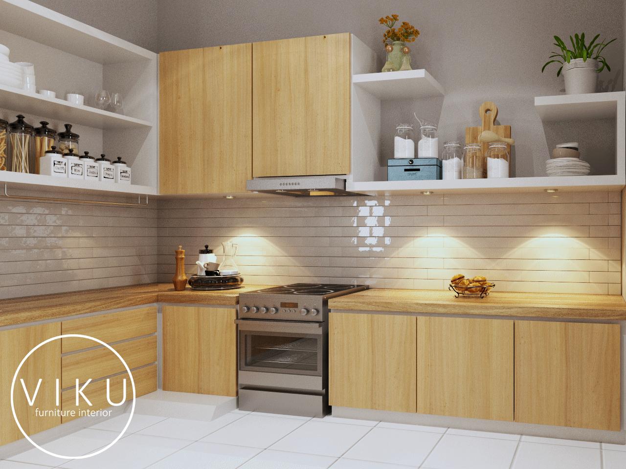 7 tips memilih kitchen set dengan budget minimal viku furniture bandung