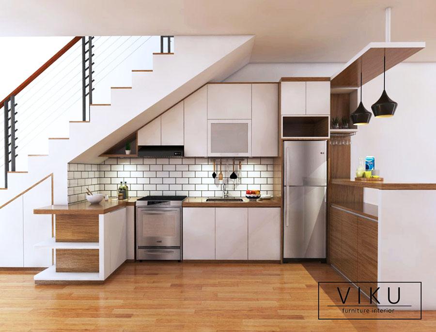 Desain Kitchen Set Minimalis Viku Furniture Bandung