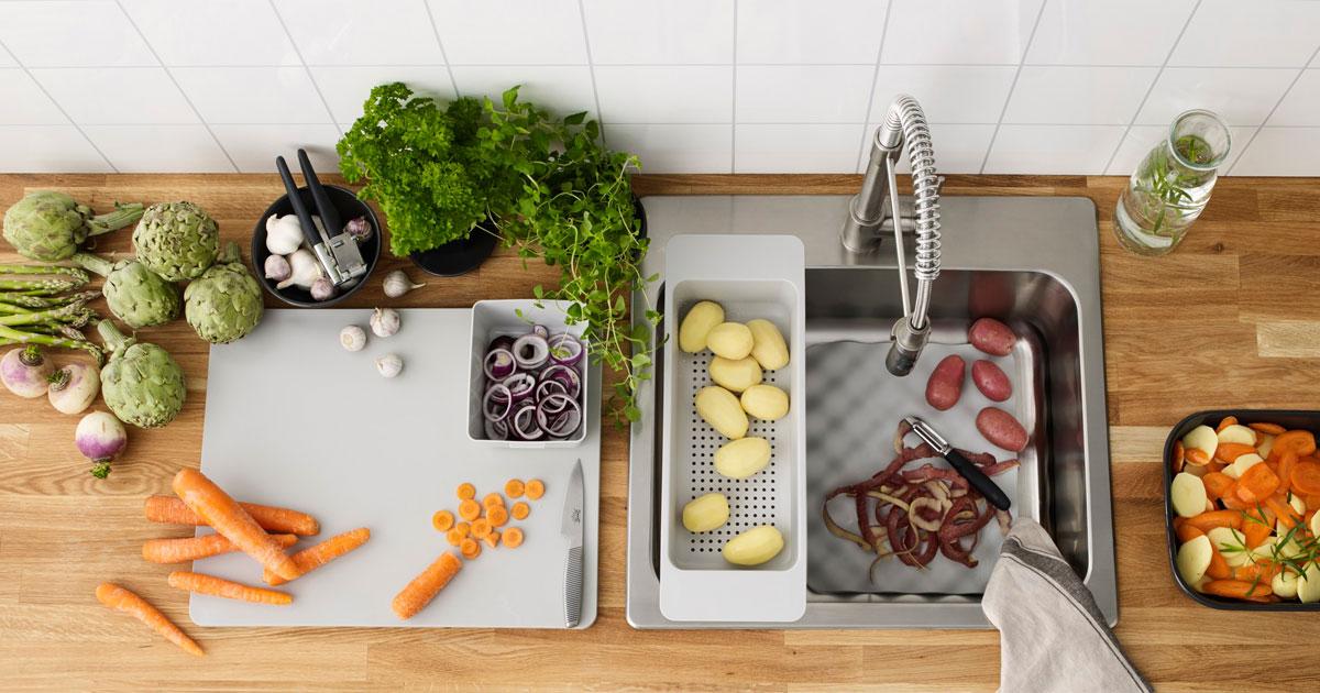 Alat-Peniris-fit-in-Kitchen-Sink-Kitchen-Set - Viku Furniture Bandung