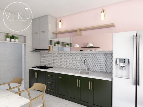 Kitchen Set Minimalis Modern Yang Cocok Buat Anda Viku Furniture Bandung